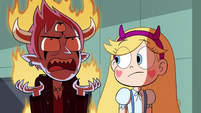 S4E29 Tom Lucitor literally burns with anger