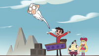 S4E2 Marco tossing the white monkey