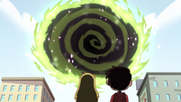 S2E14 Dimensional portal opens in front of Star and Marco