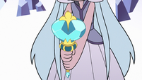 S3E2 Royal magic wand in Queen Moon's hands