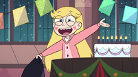 S3E25 Star Butterfly thanking everyone for the party