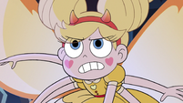 S3E38 Star Butterfly glaring angrily at Meteora