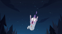 S4E17 Meteora Butterfly falling out of the air