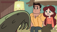 S2E36 Rafael and Angie creeped out by Rasticore's arm