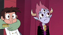 S4E24 Buff Frog pulls Marco off-screen