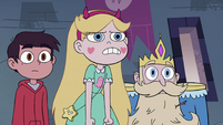 S4E1 Star Butterfly getting frustrated