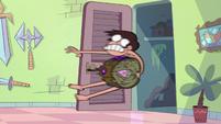 S2E1 Marco flies into Star's magic closet