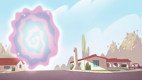 S2E40 Dimensional portal opens into Earth
