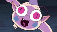 S4E1 Meteora leaping down at Eclipsa
