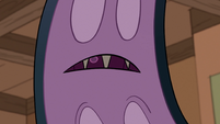 S1E5 Monster arm frowns at Marco's weakness