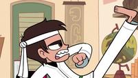S1E5 Marco karate pose 1