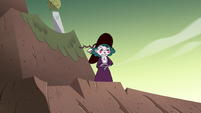 S4E33 Eclipsa Butterfly looks down the hill