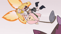 S4E24 Star Butterfly picks up River and Eddie