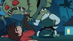 S1E7 Marco kicking mushroom monster