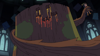 S3E25 The Stump lashes its roots at the nonbelievers