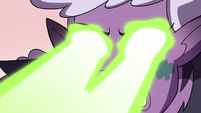 S3E38 Meteora fires her beams at Tom again