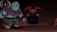 S1E15 Axe demon announces Star's arrival