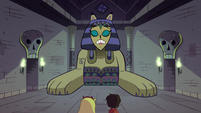 S1E8 Riddle Sphinx continues her riddle