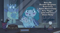 S4E17 Eclipsa, Meteora, and Archibald cooing like pigeons