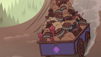 S4E33 Wagon of explosives reaches bottom of the hill