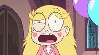S3E25 Star Butterfly looking freaked out