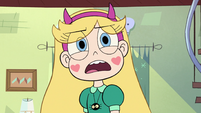 S3E23 Star 'stop blowing in Marco's hair'