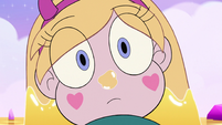S3E23 Star Butterfly looking at little unicorn