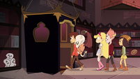 S4E13 Star, Marco, and friends enter the elevator