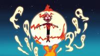 S2E19 Tom performing a demonic ritual