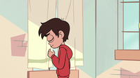 S2E39 Marco Diaz hangs his head with nervousness