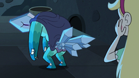 S3E11 Rhombulus with crystals on his butt