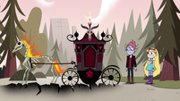 S4E25 Tom's skeleton horse carriage appears