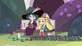 S3E14 Star Butterfly sitting next to Eclipsa