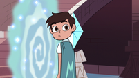 S3E8 Marco Diaz looking back at Star Butterfly