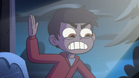 S4E19 Pony takes picture of Marco's grimace