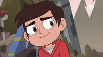 S3E37 Marco Diaz smiling at Tom