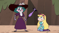 S4E33 Eclipsa Butterfly rising to her feet