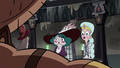 S3E36 Rich Pigeon tells Moon and Eclipsa to get out