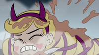 S3E27 Star Butterfly gets hit with more mud