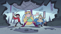 S4E1 Star, Marco, and River infiltrate dungeon