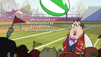 S1E4 Skeeves hit on the head by beach ball