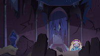S3E38 Star emerging from the rubble