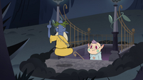 S4E17 Glossaryck going back to River of Time