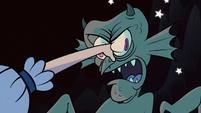 S1e1 star punching monster's eyes