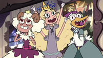S3E16 Princesses thrilled by Turdina's catchphrase