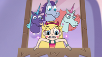 S3E35 Star and pony sisters look out the window