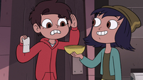 S4E13 Janna giving Star's bowl to Marco