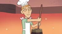 S4E2 Pie Folk man churning butter