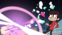 S1E4 Giant moth hit by Star's magic