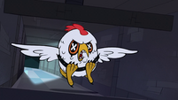 S1E8 Big Chicken dodging smashing walls